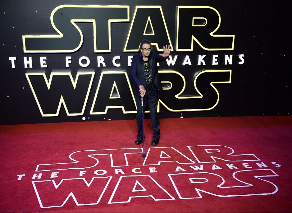 """Der US-Schauspieler Peter Mayhew, bekannt als Chewbacca in den """"Star Wars""""-Filmen, ist tot."""
