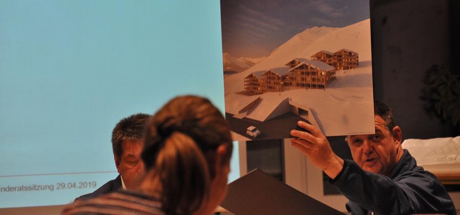 Wie der Gemeinderat dem geplanten Bauprojekt (Bild) gegenübersteht, wollte GV Wilhelm Mareiler wissen.