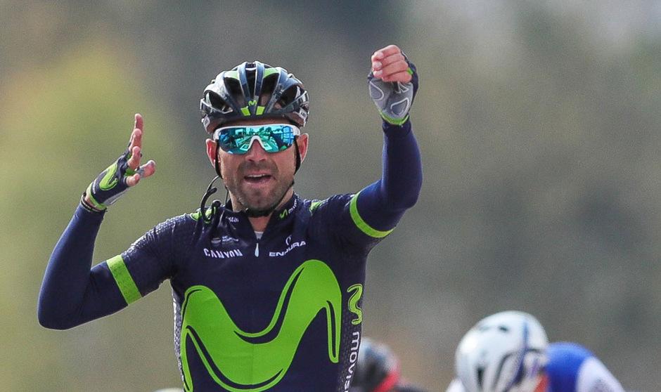 Alejandro Valverde wird beim Giro nicht über Sieg jubeln können.