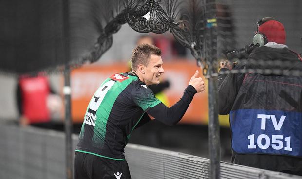 Am 10. November schoss Zlatko Dedic den FC Wacker zum letzten Heimsieg.