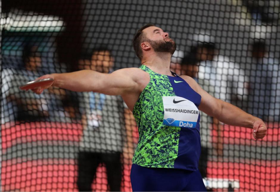 Österreichs Leichtathletik-Aushängeschild Lukas Weißhaidinger.