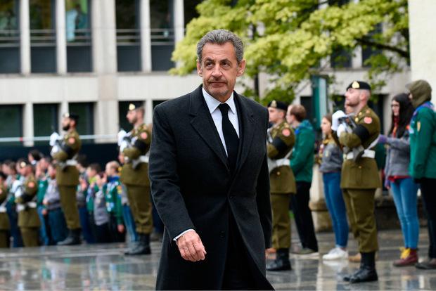 Auch Frankreichs Ex-Präsident kam zur Verabschiedung nach Luxemburg.