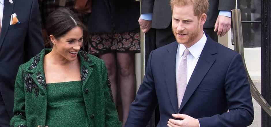 Die Geburt des Babys von Meghan und Prinz Harry wird in Großbritannien sehnlich erwartet.