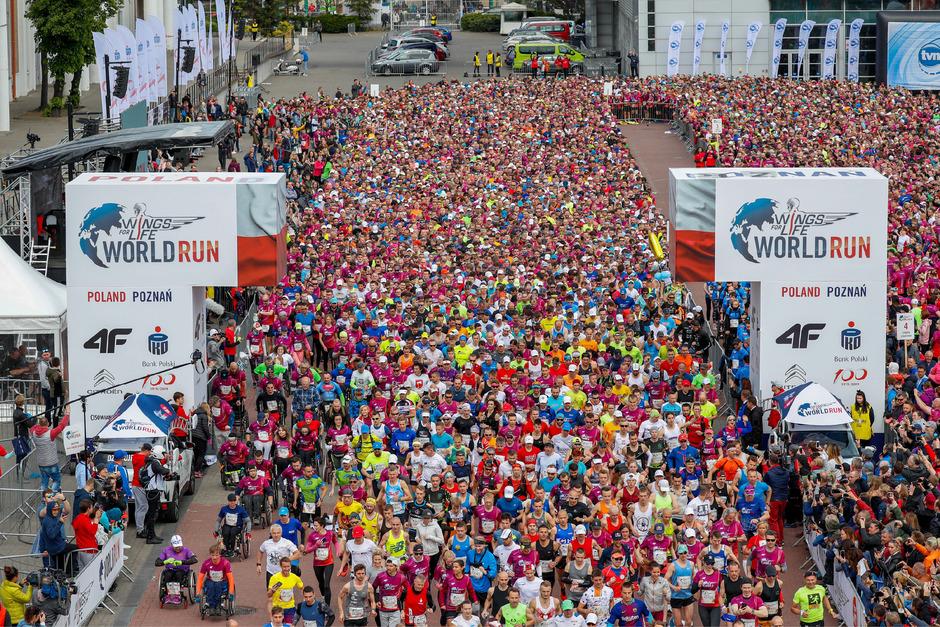 Über 120.000 Teilnhemer waren bei der sechsten Auflage weltweit am Start - unter anderem auch hier in Polen.