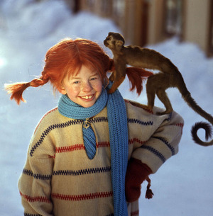 So kennt man Inger Nilsson am besten: In der Rolle der Pippi Langstrumpf.