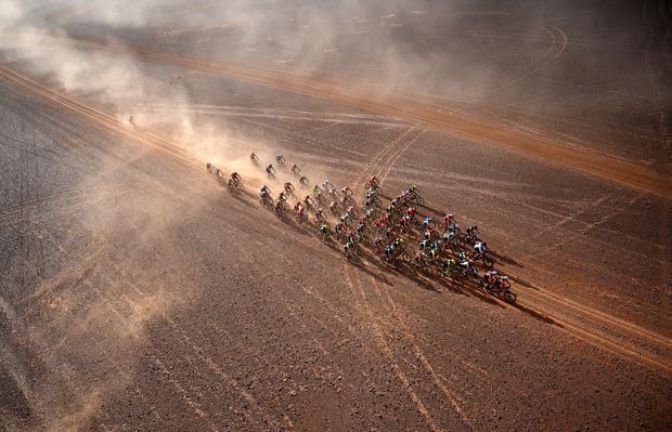 Beeindruckende Aufnahmen entstehen bei dem Rennen allemal.