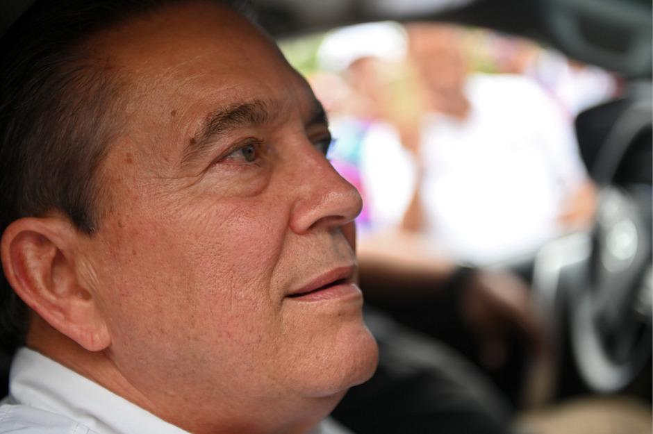 Laurentino Cortizo dürfte neuer Präsident von Panama werden.