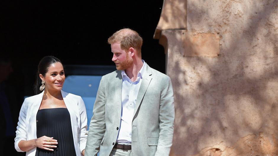 Herzogin Meghan und Prinz Harry sind nun Eltern eines Buben.