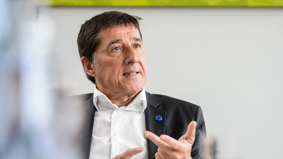 Johannes Margreiter ist Tirols EU-Spitzenkandidat für die NEOS.