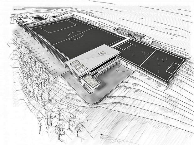 Das Freizeitzentrum hat Architekt Andreas Marth geplant.