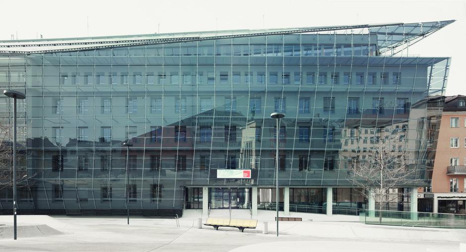 Die Tiwag Zentrale in Innsbruck.