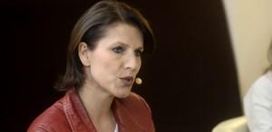 """""""Ich möchte ein Europa mit starker Stimme, aber ich möchte auch in 50 Jahren noch Österreicherin sein"""", sagt Karoline Edtstadler (ÖVP)."""