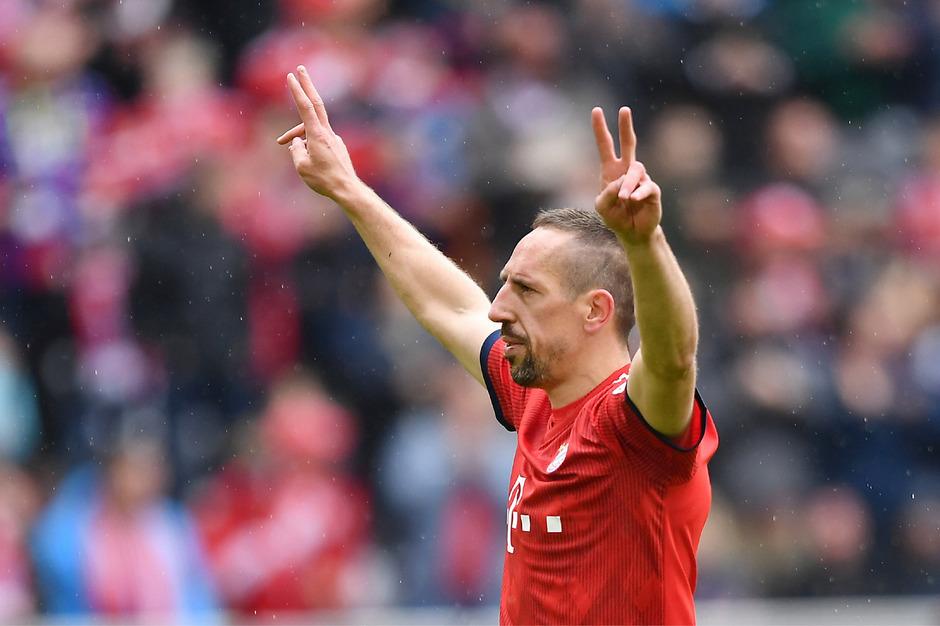 In München geht mit Saisonende die Ära von Franck Ribery zu Ende.