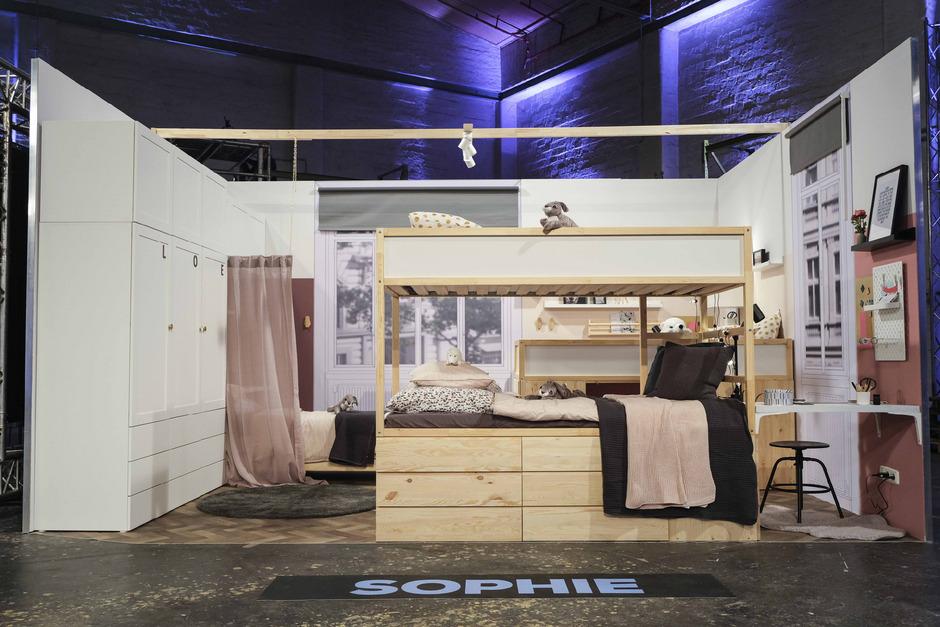 """Mit diesem Zimmer gewann Sophie (Foto im Text) den Einrichtungs-Contest """"Design Dream"""", der auf ProSieben Austria zu sehen war."""