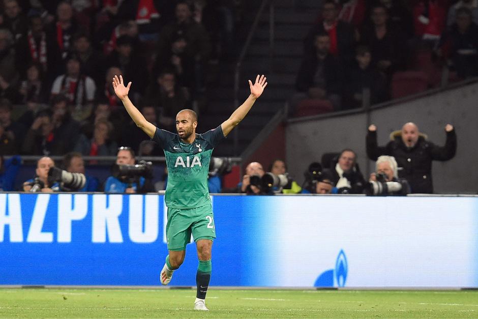 Mit seinen drei Toren war Lucas Moura der Matchwinner für Tottenham – das 3:2 schoss der Brasilianer erst in der Schlussminute.