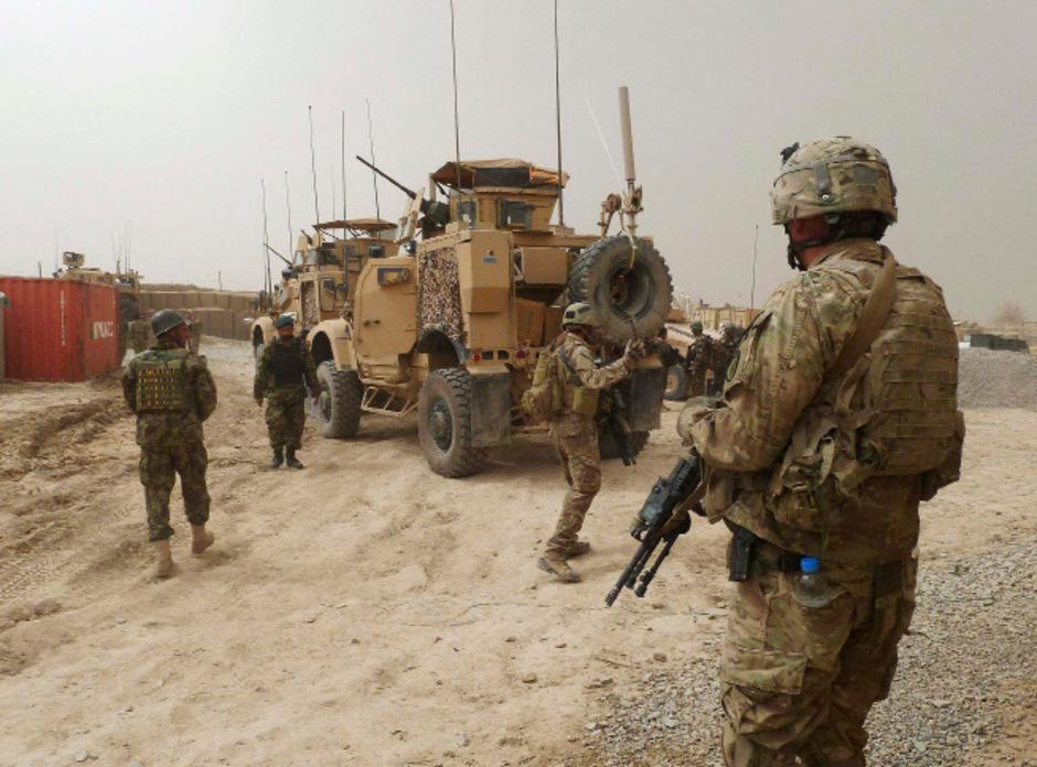Betrugsmasche: Ein Web-Betrüger gaukelte vor, ein in Kabul stationierter US-Soldat zu sein.