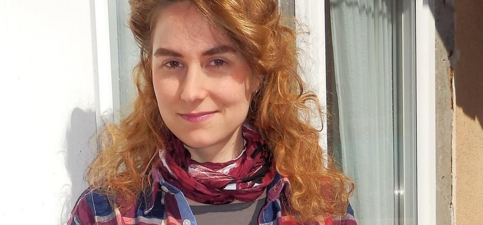 """Katharina """"Kathi"""" Zanon ist nicht nur Literatin, sondern auch bildende Künstlerin. Sie studierte unter anderem in China."""
