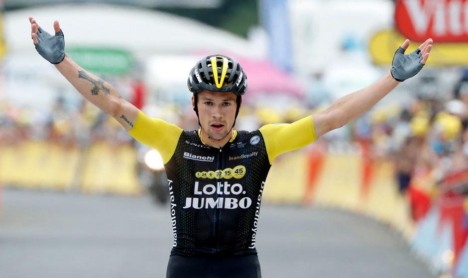 Primoz Roglich zählt zu den großen Sieganwärtern beim Giro d'Italia.