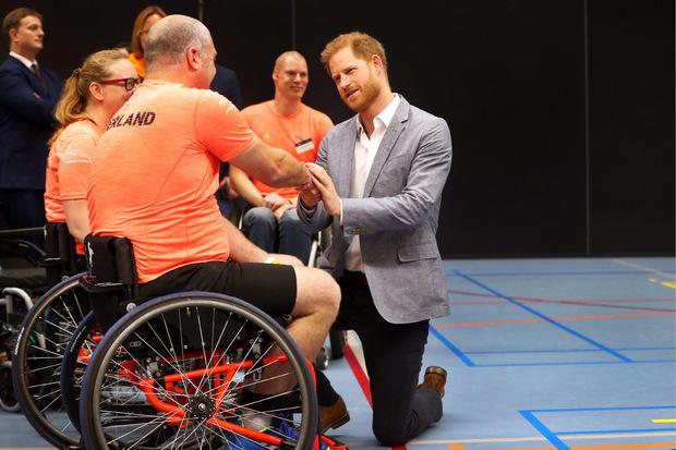 Die Sportler liegen Prinz Harry ganz besonders am Herzen.