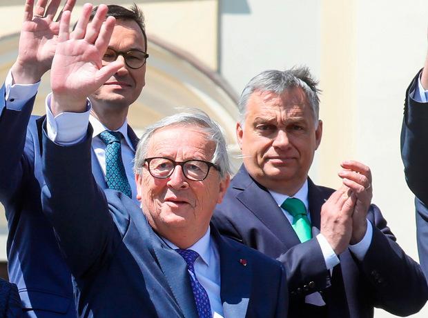 Nach der Europawahl muss nicht nur ein Nachfolger für EU-Kommissionspräsident Jean-Claude Juncker gefunden werden.