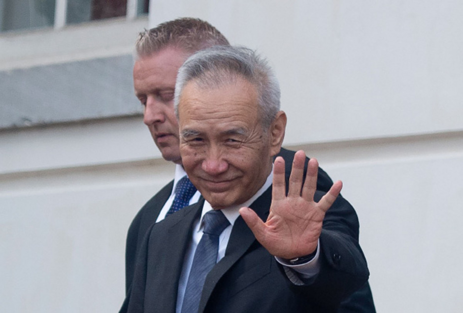 Chinas Chefunterhändler und Vizepremier Liu He in Washington.