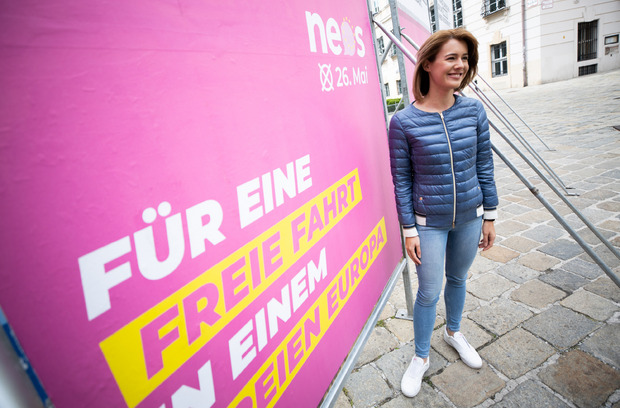 NEOS-Spitzenkandidatin Claudia Gamon will, dass Schluss ist mit Grenzkontrollen innerhalb der EU.