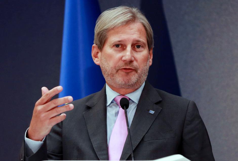 EU-Erweiterungskommissar Johannes Hahn.