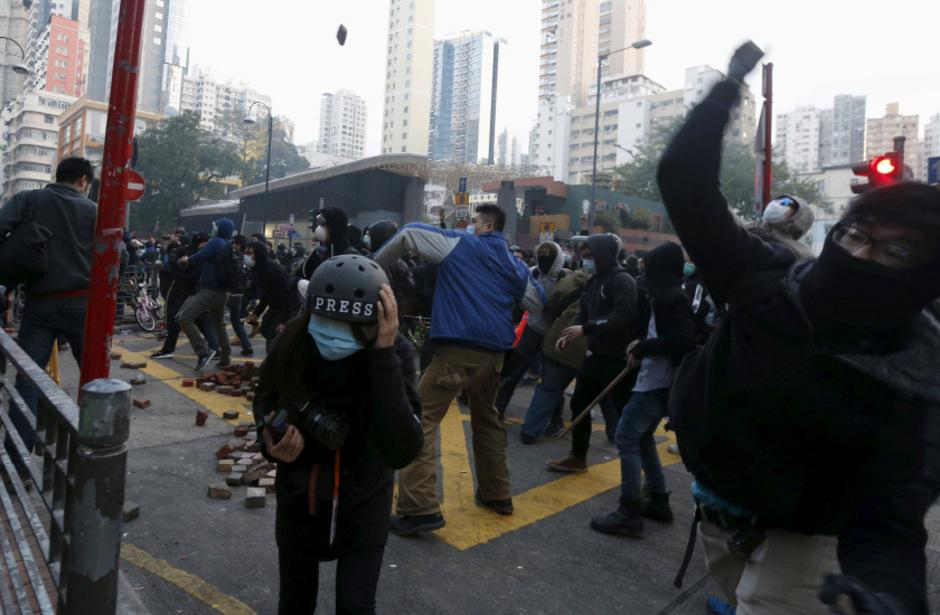 Die Stimmung in Hongkong ist seit Monaten aufgeheizt.