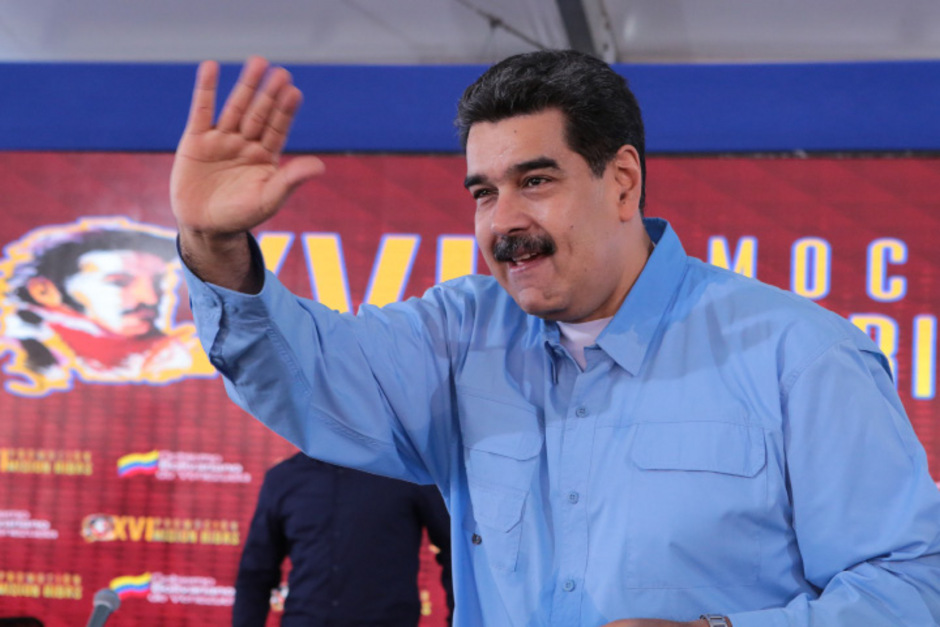 Nicolas Maduro sitzt in Venezuela nach einem Umsturzversuch der Opposition nach wie vor fest im Sattel.