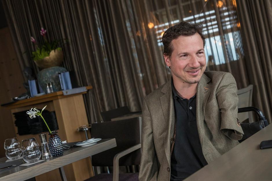 Der 45-jährige Georg Fraberger lebt ein normales Leben.