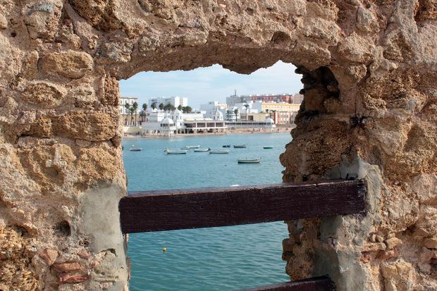 Blick auf Cadiz, die Stadt, die schon 1104 gegründet wurde.