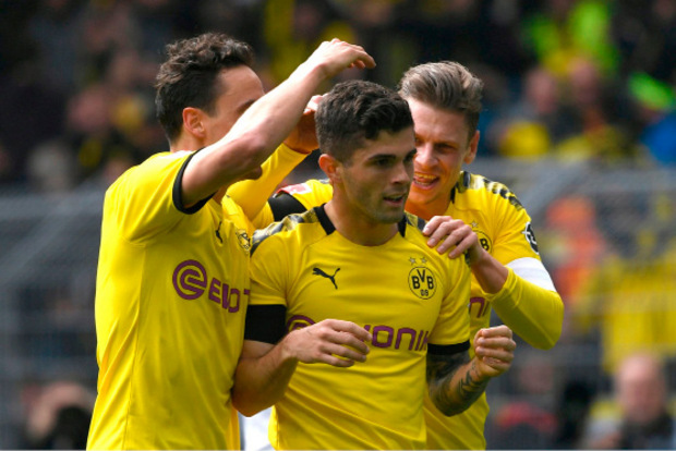 Christian Pulisic traf in seinem letzten Heimspiel für Dortmund. Im Sommer wechselt der US-Amerikaner zum FC Chelsea.
