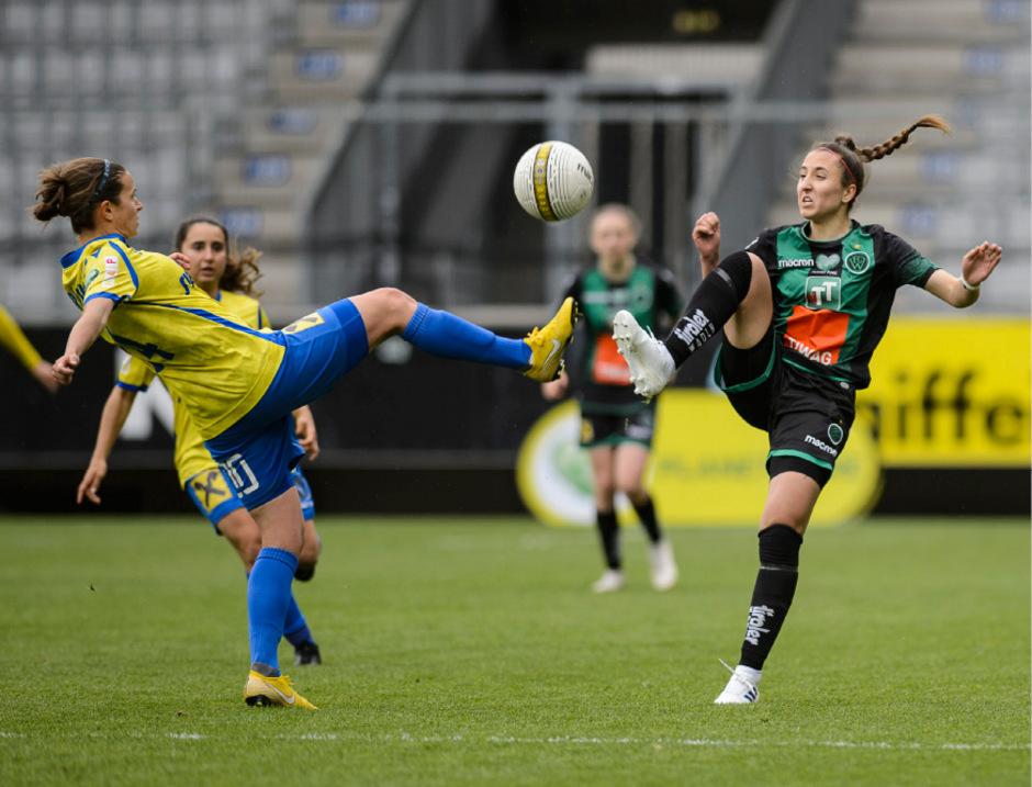 Andrea Glibo feierte ihr Premieren-Tor in der Bundesliga.