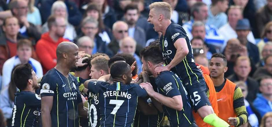 Manchester City verteidigte den Meistertitel in der Premier League erfolgreich.