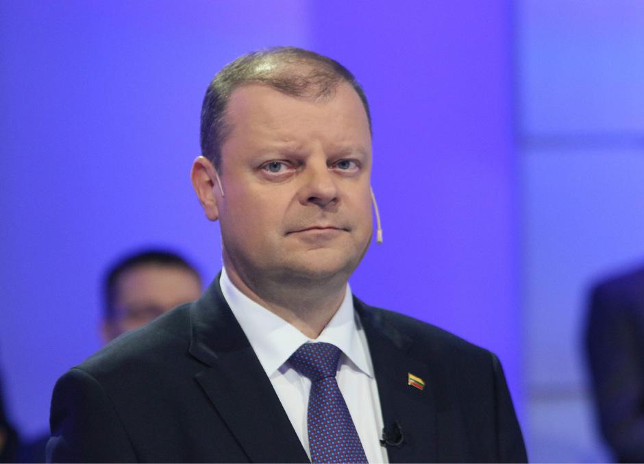 Der amtierende Regierungschef Saulius Skvernelis steht vor dem Rücktritt.