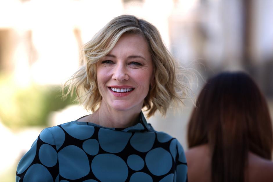 "Oscar-Preisträgerin Cate Blanchett zählt zu den Initiatorinnen des Projekts ""Time's Up"", dass sich gegen sexuellen Missbrauch engagiert."