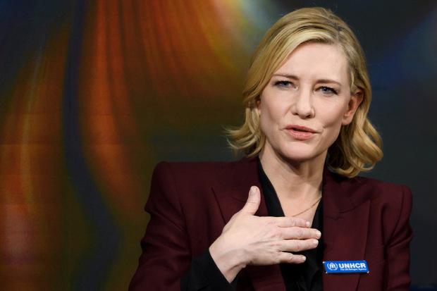 Cate Blanchett äußert sich immer wieder zu politischen Themen.