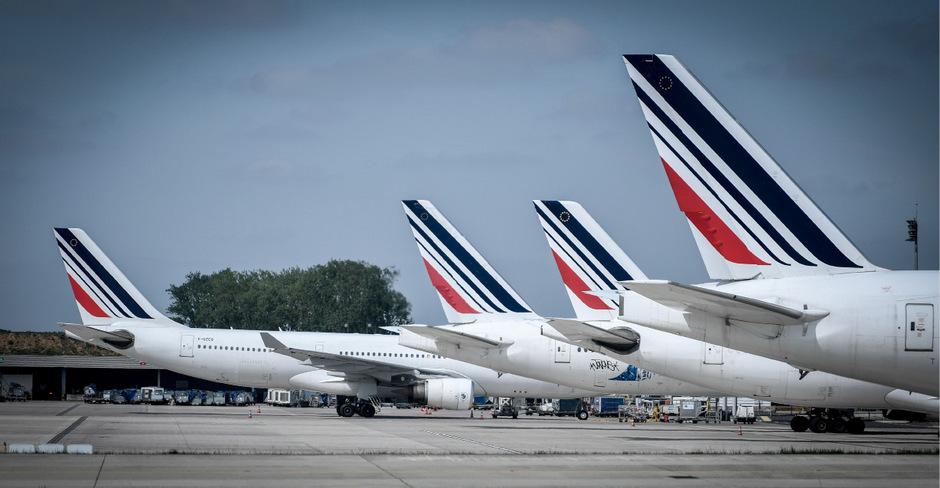 TGV-Hochgeschwindigkeitszüge sind der Hauptkonkurrent für die Fluggesellschaft Air France in Frankreich geworden.