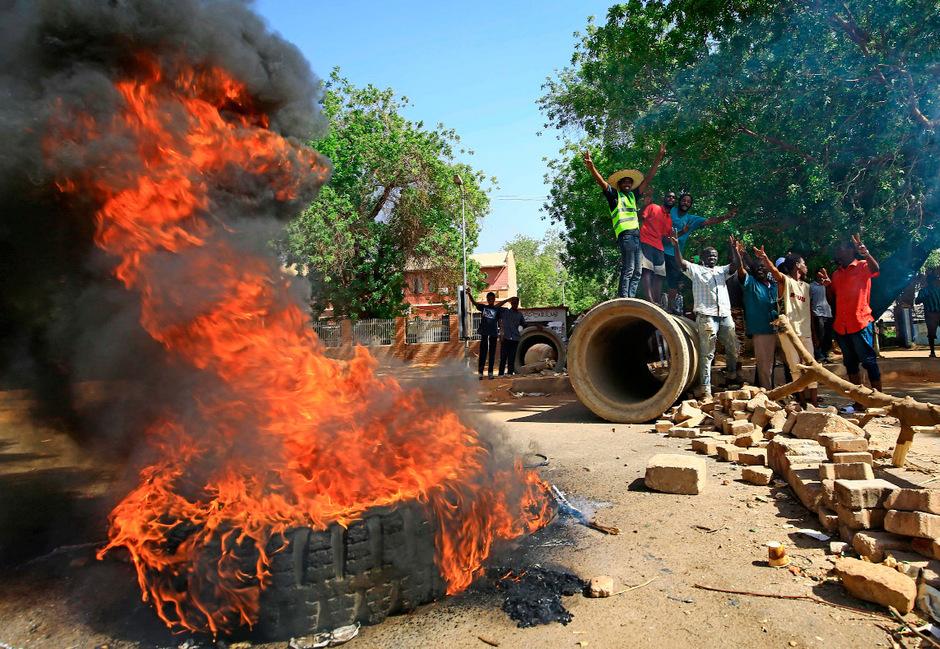 Im Sudan kam es zu Massenprotesten.