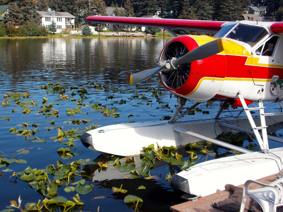 Wasserflugzeug in Alaska. (Symbolfoto)