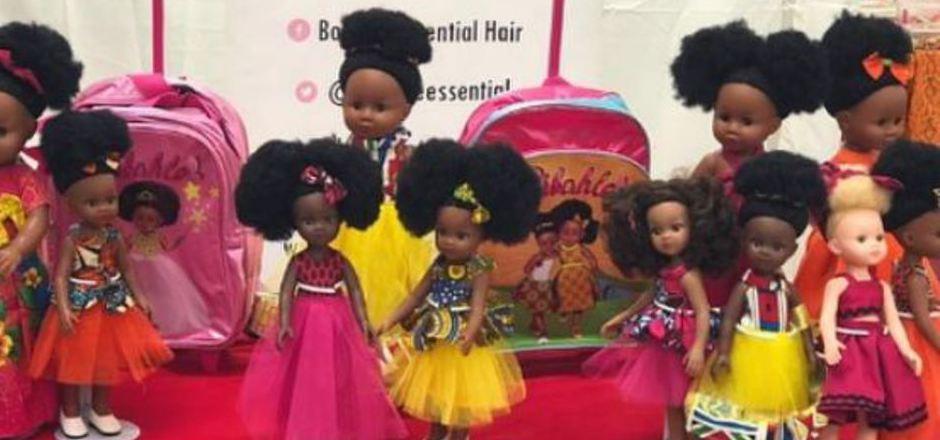 Auf der Instagram-Seite der Sibahle Collection werden alle Varianten der kindgerechten Puppen präsentiert.