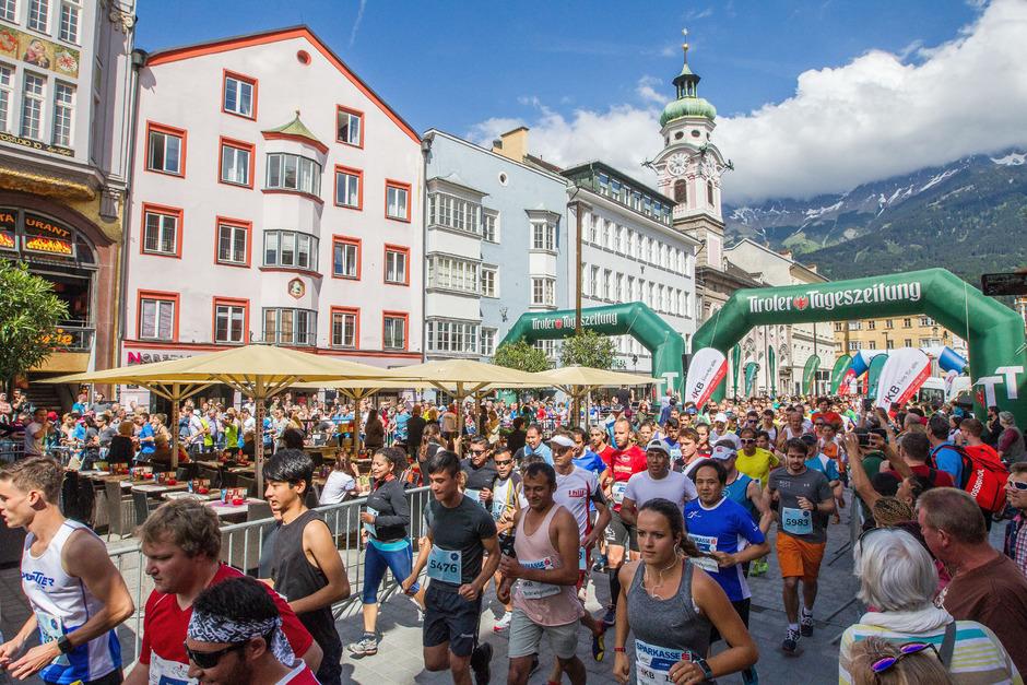Das größte Lauffest Innsbruck wird wieder am Sonntag zelebriert.