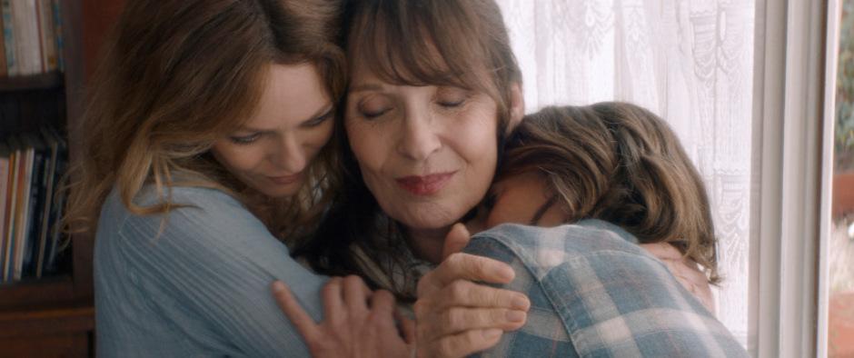 Der Schein reinen Familienglücks trügt: Vanessa Paradis, Chantal Lauby und Camille Cottin.