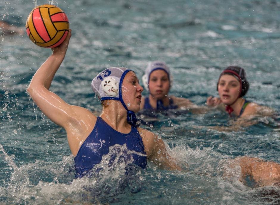 Torgarantie für die WBCT-Wasserballerinnen: Zsofia Toth.