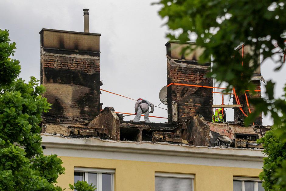 370 Menschen wurden durch den Brand vorübergehend obdachlos.