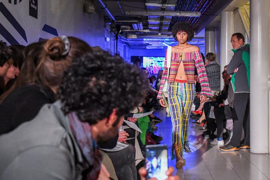 """Modenschau anlässlich. der Verleihung der """"Austrian Fashion Awards 2019"""" in Wien."""