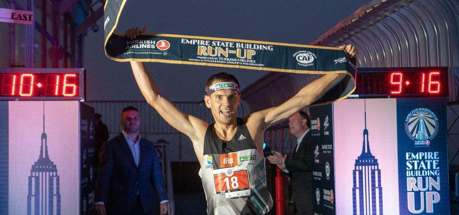 Piotr Lobodzinski kam nach 10:05 Minuten als Erster ins Ziel.