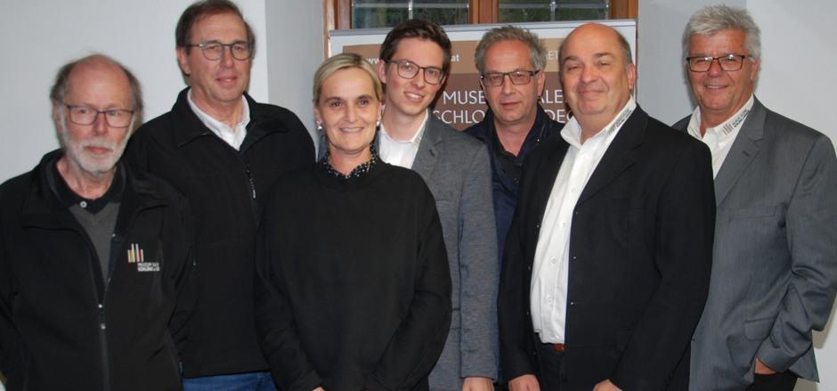 Der Bezirksmuseumsverein Landeck konnte eine weitere Erfolgsbilanz vorlegen – Franz Geiger, Nikolaus Köll, Maria Jörg, Philipp Machac, BM Wolfgang Jörg, Reinhard Machac und Obmann Christian Rudig (v.l.).