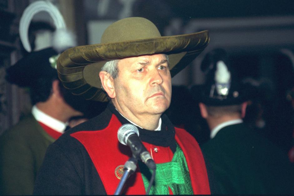 Zeitzeuge Richard Piock war nicht nur Unternehmer, sondern von 1994 bis 2000 auch Kommandant des Südtiroler Schützenbundes.