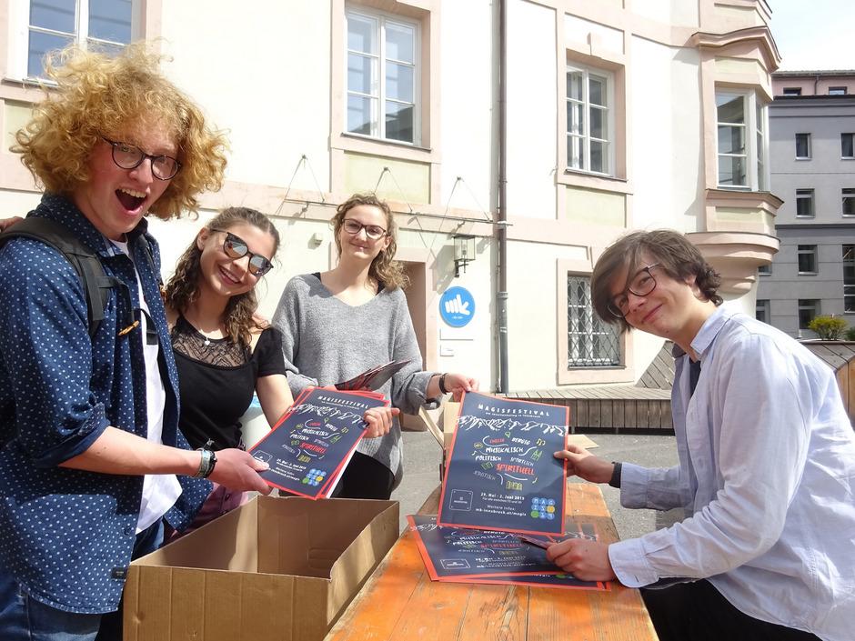 """Für das """"Magisfestival"""" (29. Mai bis 2. Juni) haben die Jugendlichen des """"mk Jugendzentrums"""" ein facettenreiches Programm organisiert."""